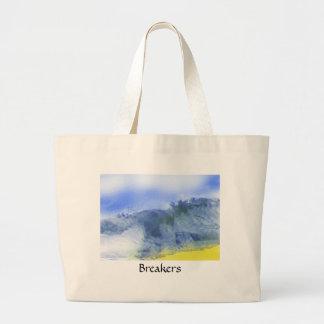 Breakers | large tote bag