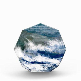 Breakers on the Rocks Seascape Ocean Waves Art Award