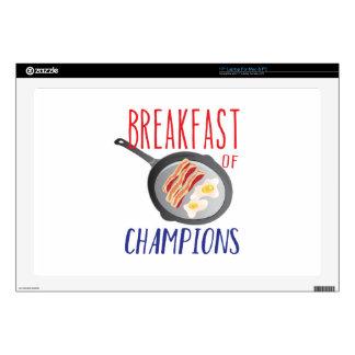 """Breakfast 17"""" Laptop Decal"""