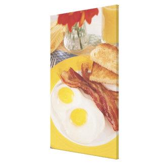 Breakfast 2 canvas print