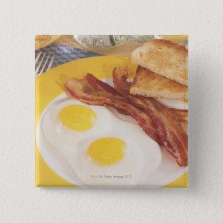 Breakfast 2 pinback button