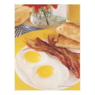 Breakfast 2 postcard