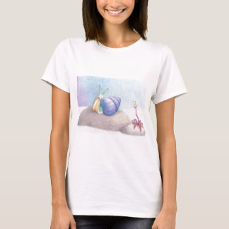Breakfast above the clouds T-Shirt