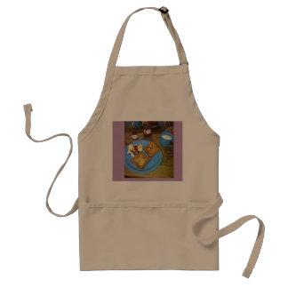 breakfast adult apron
