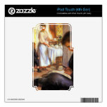 Breakfast at Berneval by Pierre Renoir iPod Touch 4G Skin