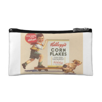 breakfast at the limit! cosmetic bag