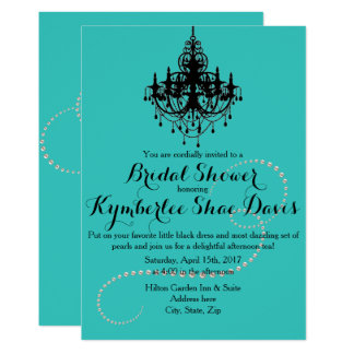 Breakfast at Tiffany's Shower Invitation