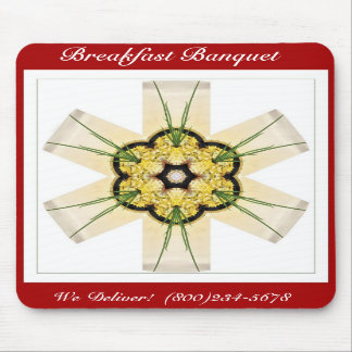 Breakfast Banquet Mouse Pad