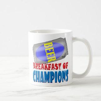 Breakfast Beer Classic White Coffee Mug