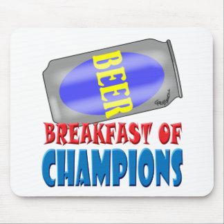 Breakfast Beer Mouse Pad