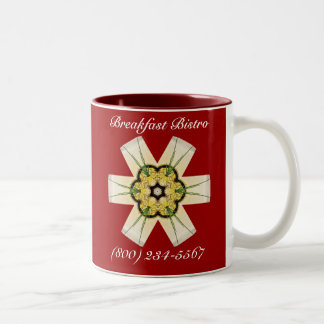 Breakfast Bistro Daily Delight Two-Tone Coffee Mug