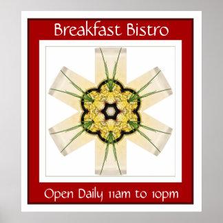 Breakfast Bistro Poster