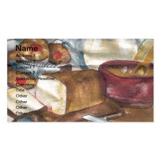 Breakfast Business Card