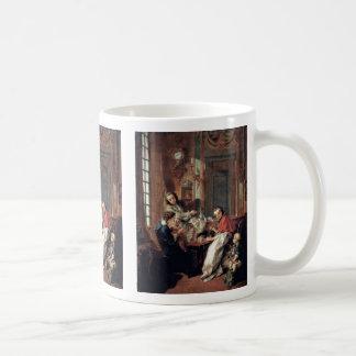Breakfast By Boucher François Classic White Coffee Mug