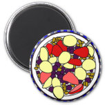 Breakfast Cereal 2 Inch Round Magnet
