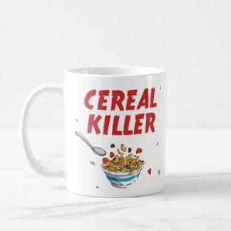Breakfast Cereal Killer Classic White Coffee Mug