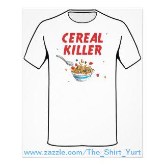 "Breakfast Cereal Killer 4.5"" X 5.6"" Flyer"
