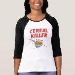 Breakfast Cereal Killer Tee Shirt