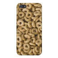 Breakfast Cereal rings Case For iPhone 5