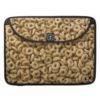 Breakfast Cereal rings Sleeve For MacBooks