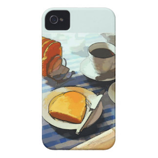 Breakfast Coffee Case-Mate iPhone 4 Case