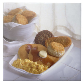 Breakfast combo ceramic tile