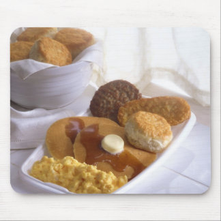 Breakfast combo mouse pad