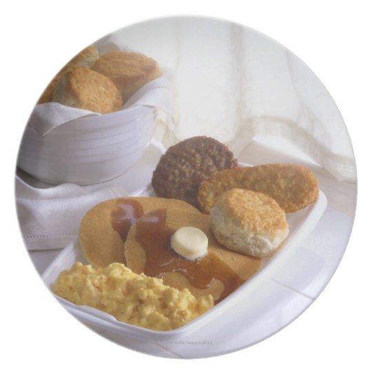 Breakfast combo plate