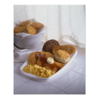 Breakfast combo poster