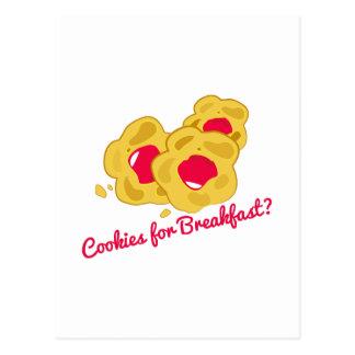 Breakfast Cookies Post Cards