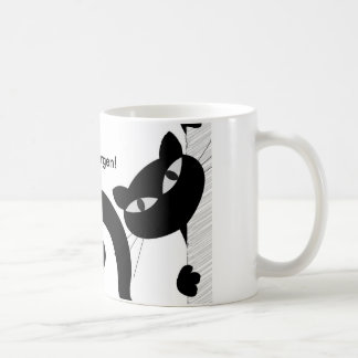"""Breakfast cup of """"good mornings"""" with logo"""