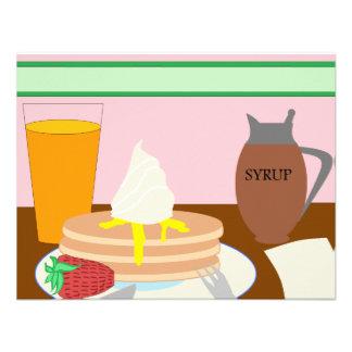Breakfast Custom Invites