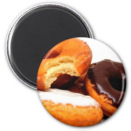 Breakfast Doughnut Magnets