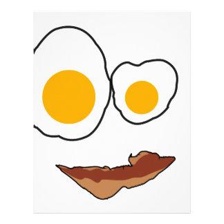 Breakfast Face Products Letterhead Template