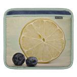 Breakfast foods lemon blueberry grapefruit ipad ca iPad sleeves