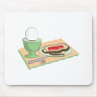 Breakfast Foods Mouse Pad