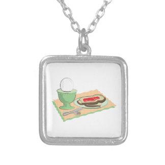 Breakfast Foods Custom Necklace