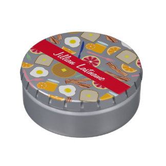 Breakfast Foods Personalized Jelly Belly™ Tin Jelly Belly Tins