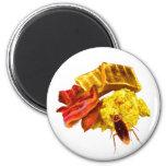 Breakfast Fridge Magnet