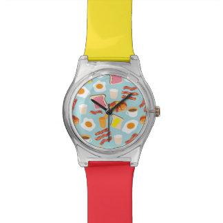 Breakfast Fun Wrist Watches