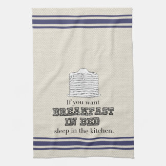 Breakfast in Bed Kitchen Towel