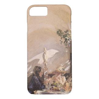 Breakfast in Loggia by Sargent, Vintage Victorian iPhone 7 Case