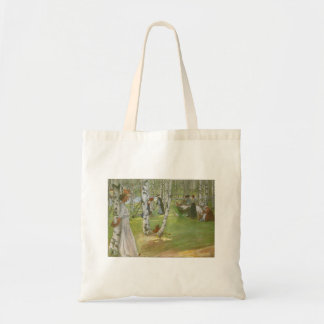 Breakfast in the Open by Carl Larsson Budget Tote Bag