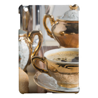 Breakfast in vintage style - espresso and Savoiard iPad Mini Case