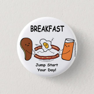 BREAKFAST Jump Start Your Day! Button