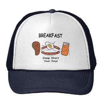 BREAKFAST Jump Start Your Day! Trucker Hat