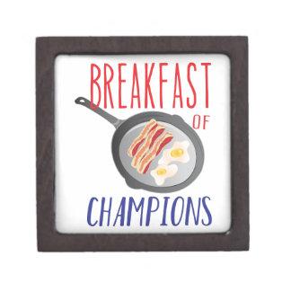 Breakfast Keepsake Box