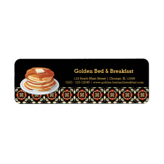 Breakfast Label