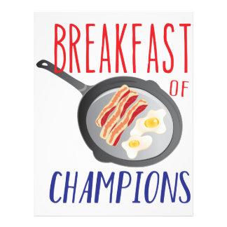 Breakfast Letterhead
