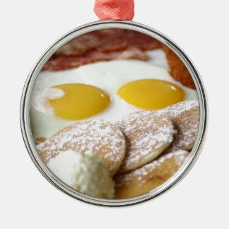 Breakfast Metal Ornament